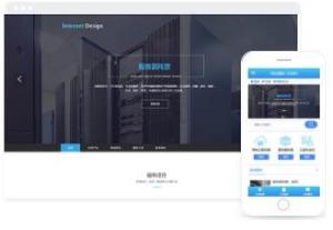 服务器托管、租用在线商城网页模板
