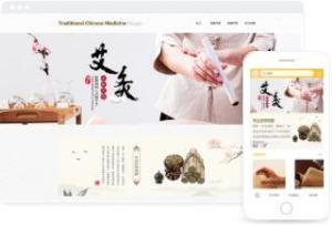中医理疗产品在线销售平台模板